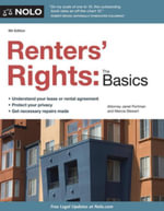 Renters' Rights : The Basics - Janet Portman