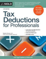 Tax Deductions for Professionals - Stephen Fishman, J.D.