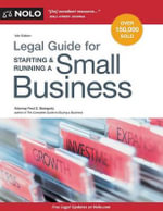 Legal Guide for Starting & Running a Small Business - Fred S Steingold