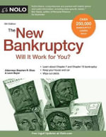 The New Bankruptcy : Will It Work for You? - Stephen Elias