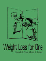 Weight Loss for One - Kenneth D. Ritzer