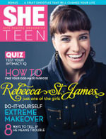 She Teen : Safe Healthy Empowered - Rebecca St James