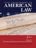 Gale Encyclopedia of American Law : WEST'S ENCYCLOPEDIA OF AMERICAN LAW - Gale Cengage Learning