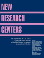 New Research Centers : Research and International Research Centers Directory Supplement - Matt Miskelly