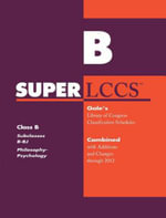 SUPERLCCS 2012 : Subclass B-BJ: Philosophy, Ethics