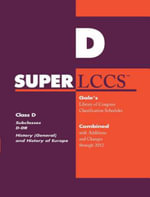 SUPERLCCS 2012 : Subclass D-Dr: