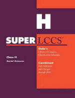 SUPERLCCS 2012 : Class H: Social Sciences