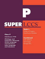 SUPERLCCS 2012 : Subclass P-Pa: Philology, Linguistics and Classical Philology