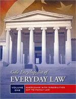 Gale Encyclopedia of Everyday Law : 2 Volume Set