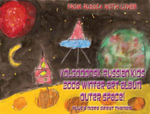 Volgodonsk Russian Kids 2008 Winter Art Album - Outer Space Series C06 (English) - Arnold D Vinette