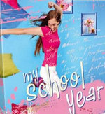 My School Year (for Teen Girls) : My Diary - Delicious Stationery