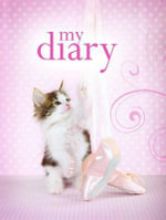 Sparkle Lock-up Diary - Playful Kitten - Delicious Stationery