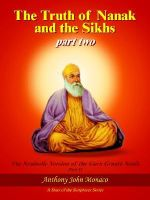 Truth of Nanak and the Sikhs Part Two - Anthony John Monaco