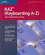 Keyboarding A to Z : Crisp 50 Minute - Ilt, Course Technology