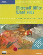 Microsoft Office Word 2003 Illustrated Complete Coursecard Edition :  Illustrated, Coursecard Edition, Complete - Carol M. Cram