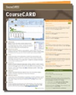PC Security Coursecard (Windows XP) : Pc Security - Axzo Press