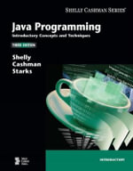 Java Programming : Introductory Concepts and Techniques - Thomas J. Cashman
