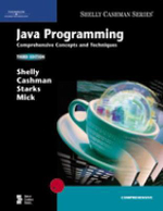 Java Programming : Comprehensive Concepts and Techniques - Gary B. Shelly