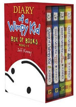 Diary of a Wimpy Kid Box of Books 1-4 : Diary of a Wimpy/ Rodrick Rules / The Last Straw / Dog Days - Jeff Kinney