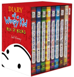 Diary of a Wimpy Kid Box of Books 1-7 & the Do-It-Yourself Book & Journal - Jeff Kinney