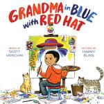 Grandma in Blue with Red Hat - Scott Menchin