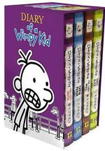Diary of a Wimpy Kid Box of Books 5-8 - Jeff Kinney