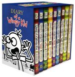 Diary of a Wimpy Kid Box of Books 1-8 + the Do-It-Yourself Book - Jeff Kinney