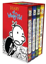 Diary of a Wimpy Kid Box of Books 1-4 - Jeff Kinney