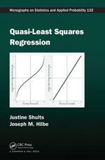 Quasi-least Squares Regression : Extended Generalized Estimating Equation Methodology - Justine Shults