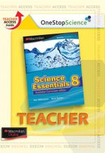 Science Essentials 8 : Digital Teacher Support - Australian Curriculum Edition - Ken Williamson