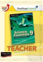 Science Essentials 9 : Digital Teacher Support - Australian Curriculum Edition - Ken Williamson