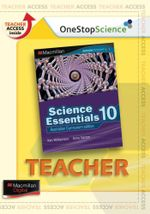 Science Essentials 10  : Digital Teacher Support - Australian Curriculum Edition - Ken Williamson