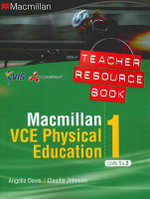 Macmillan VCE Physical Education, 1 : Units 1 and 2: Teacher Resource Book + CD - Melissa Arkinstall