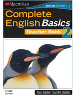 Complete English Basics 2 Teacher's Book : A Class and Homework Course (2nd Edition) - Rex Sadler