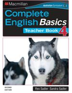 Complete English Basics 4 Teacher Book : A Class and Homework Course (2nd Edition) - Rex Sadler