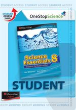 Science Essentials 8 : Digital Online Access for Students - Australian Curriculum Edition - Ken Williamson