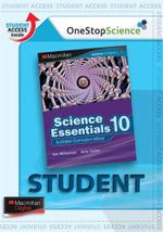 Science Essentials 10  : Digital Online Access for Students - Australian Curriculum Edition - Ken Williamson