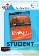 Macmillan English 8 : Digital Online Access for Students - Australian Curriculum Edition - Sandra Berhardt