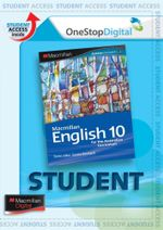 Macmillan English 10  : Digital Online Access for Students - Australian Curriculum Edition - Sandra Berhardt