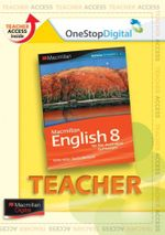 Macmillan English 8  : Digital Teacher Support - Australian Curriculum Edition - Sandra Berhardt