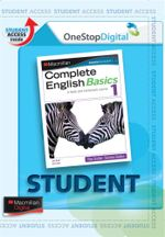 Complete English Basics 1 : Digital Online Access for Students - Australian Curriculum Edition - Rex Sadler