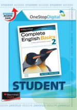 Complete English Basics 2 : Digital Online Access for Students - Australian Curriculum Edition - Rex Sadler