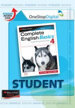 Complete English Basics 4 : Digital Online Access for Students - Australian Curriculum Edition - Rex and Sandra Sadler