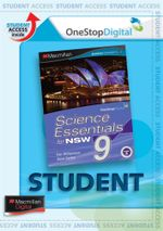 Science Essentials 9 for NSW : Digital Online Access for Students - Australian Curriculum Edition - Ken Williamson