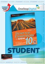 Science Essentials 10 for NSW : Digital Online Access for Students - Australian Curriculum Edition - Ken Williamson