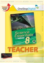Science Essentials 8 for NSW : Digital Teacher Support - Australian Curriculum Edition - Ken Williamson