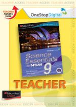 Science Essentials 9 for NSW : Digital Teacher Support - Australian Curriculum Edition - Ken Williamson