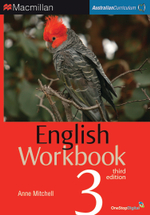 English Workbook 3 : Student eBook - Australian Curriculum (3rd Edition) - Anne Mitchell