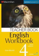 English Workbook 4  : Teacher Book - Australian Curriculum (3rd Edition) - Anne Mitchell