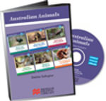 Australian Animals : CD Rom containing PDF materials suitable for IWB use - Debbie Gallagher